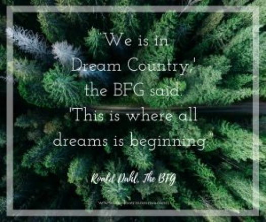 Dream Country quote