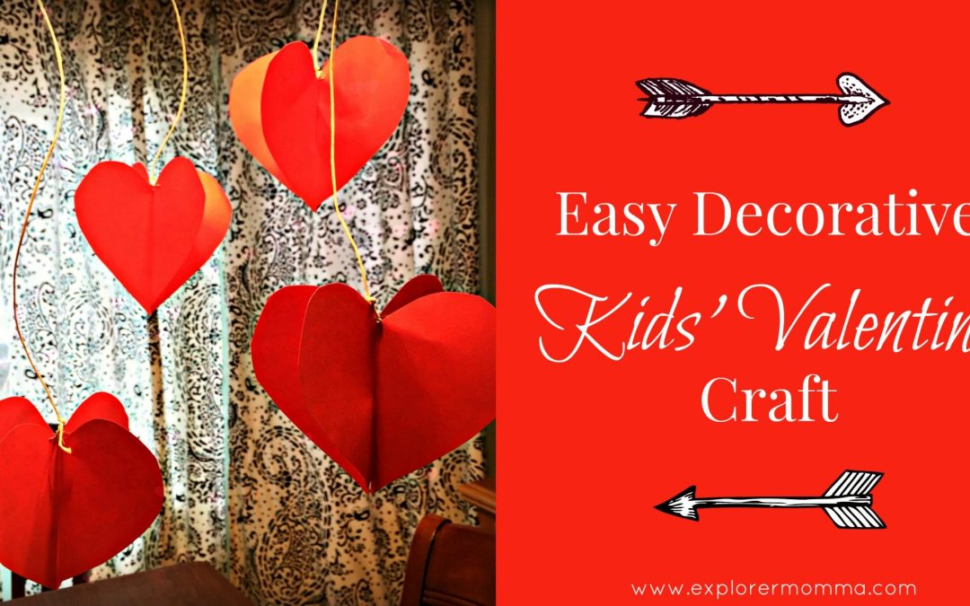 Easy Decorative Kids' Valentine Craft