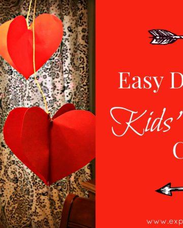 Kids' Valentine craft feature