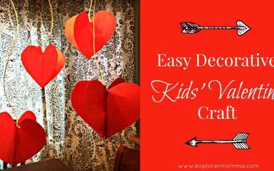Easy Decorative Kids' Valentine Craft