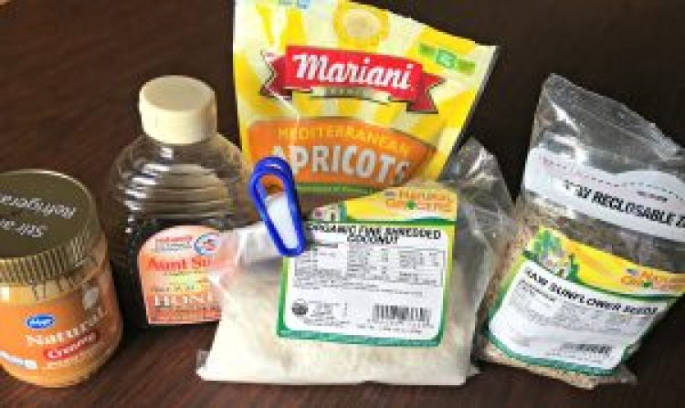 Gluten free granola bar ingredients