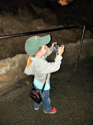 Carlsbad Caverns camera man