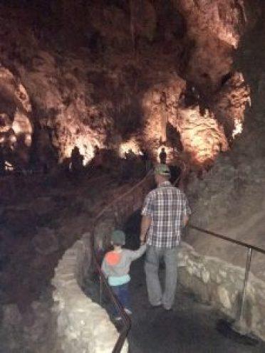 Carlsbad Caverns walkway