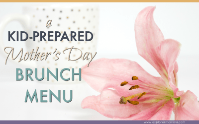 Kid-Prepared Mother's Day Brunch Menu