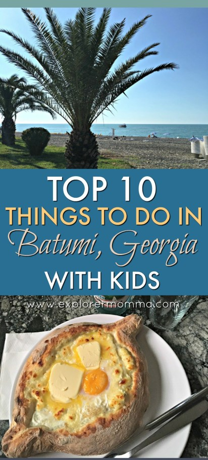 Batumi with kids pin