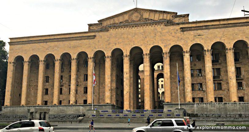 Tbilisi, Georgia Parliament