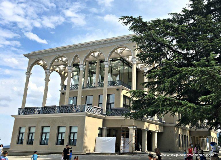 Restaurant overlooking Tbilisi