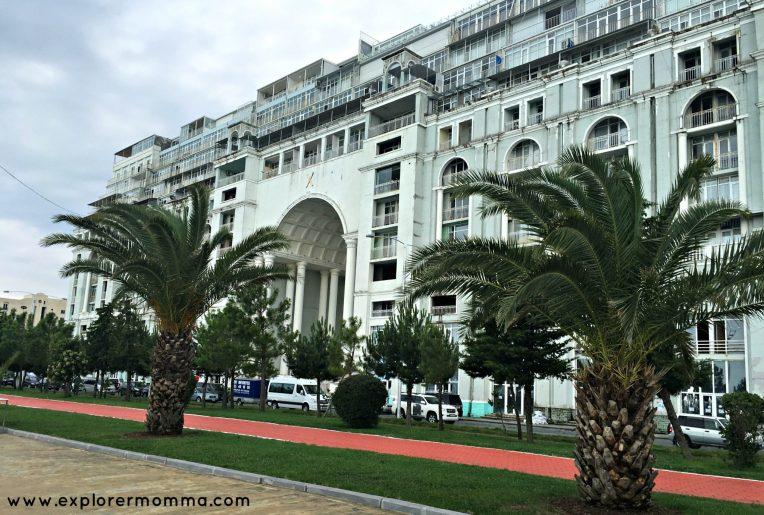Soviet Batumi building