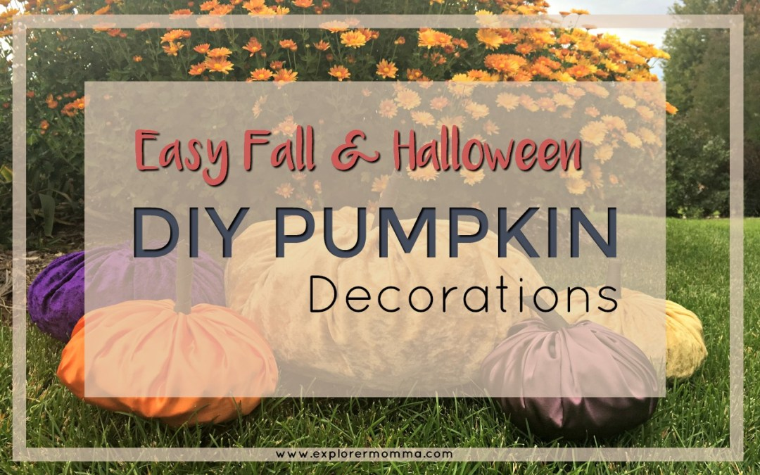 Easy DIY Pumpkin Decor for Fall