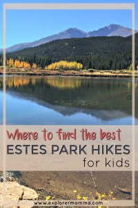 Estes Park hikes for kids pin-