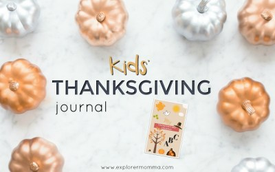 Kids' Thanksgiving Journal: How To Make Kids Thankful