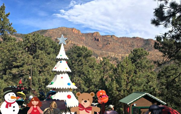Santa's Workshop Colorado tree view