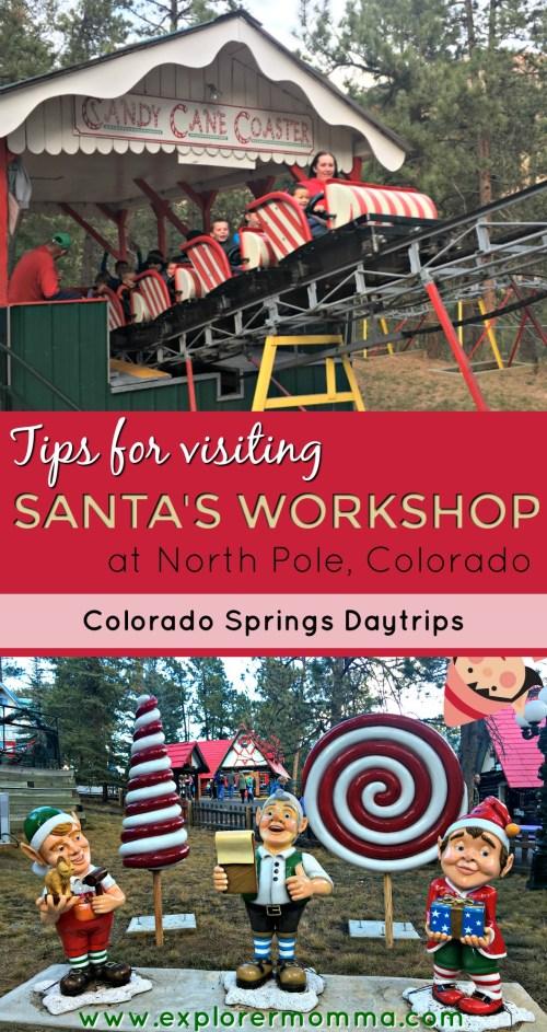 Tips For Visiting Santa's Workshop pin