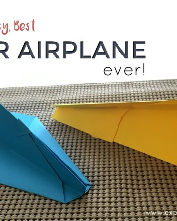 Best paper airplane ever feature