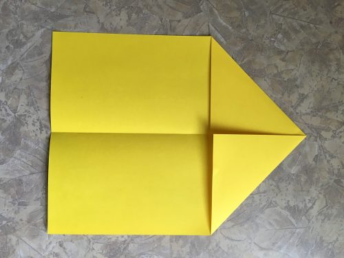Best paper airplane ever, top corners