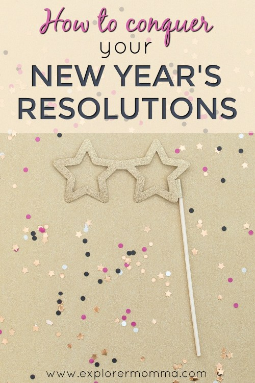 New Year's Resolutions pin