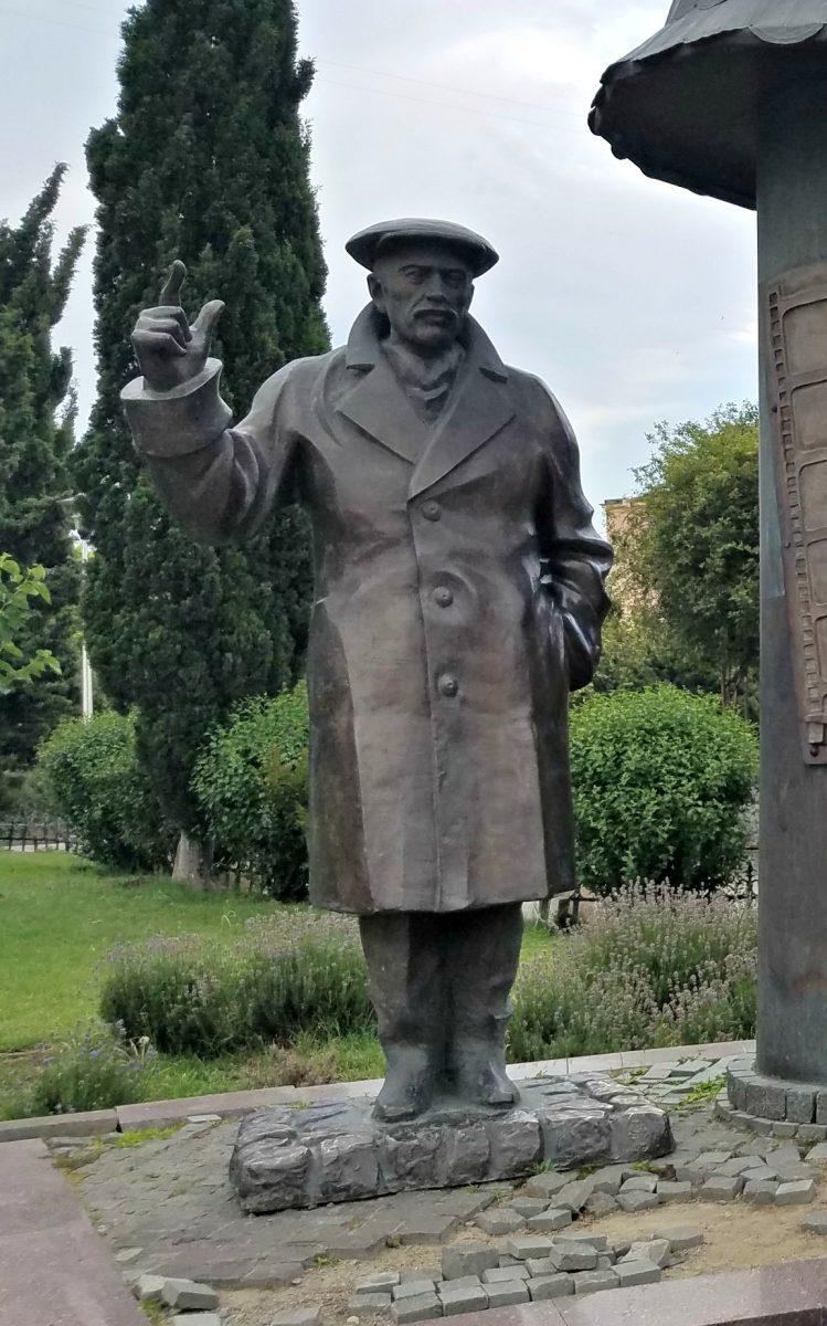 Park statue, Tbilisi