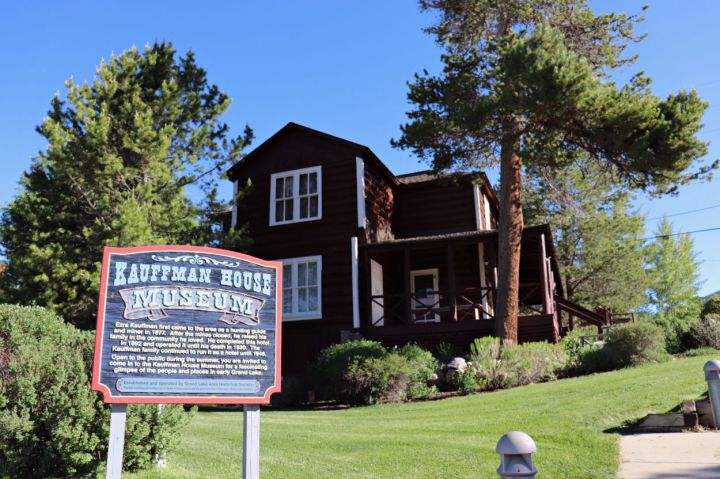 Kauffman House Museum, Grand Lake Colorado #historiccolorado #grandlakecolorado