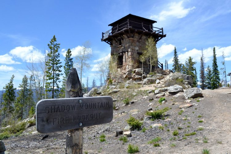Shadow Mountain Fire Lookout