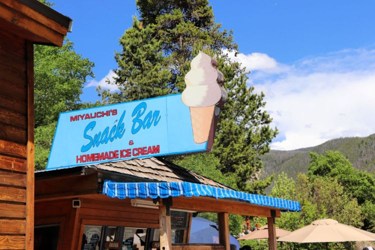 Snack bar on the beach, Grand Lake, CO #grandlake #coloradotourism