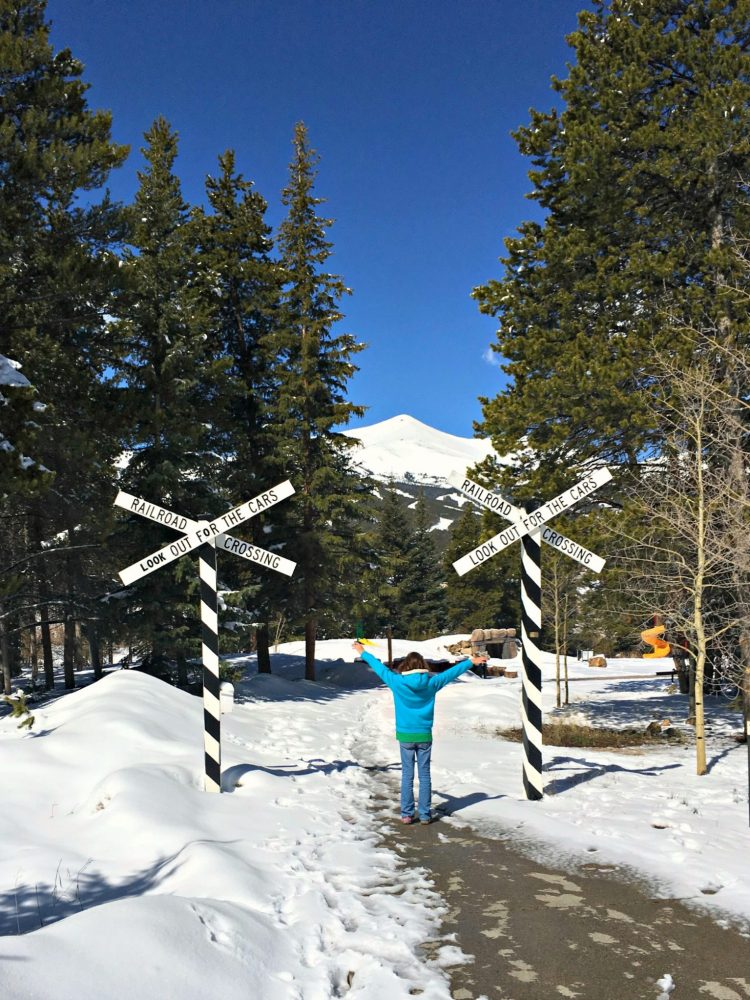 Breckenridge Rail Road Park view