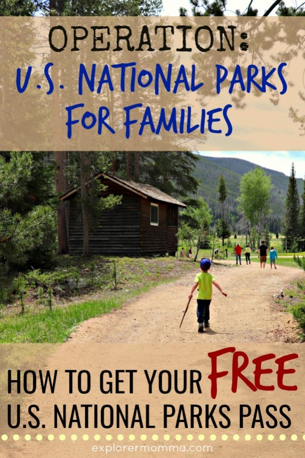 Operation US National Parks for Families. Join our family and more as we travel the United States together. Learn how to get your free US National Parks pass! #travelwithkids #usnationalparks #everykidinapark #explorermomma