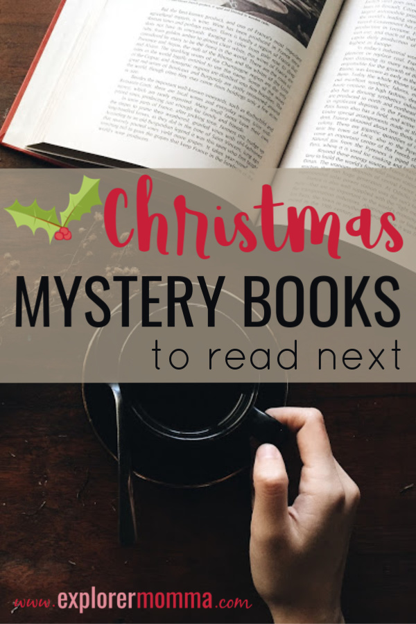Do you love a good murder mystery at the manor? Christmas mystery books are one of my favorite genres and fabulous for de-stressing during the holidays. #christmasmysteries #christmasbooks