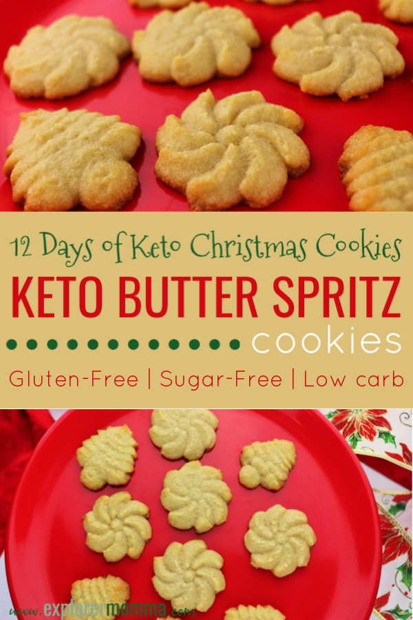 Keto Butter Spritz Cookies Explorer Momma