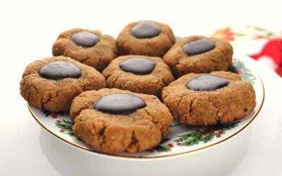 Thumbprint Keto Peanut Butter Cookies