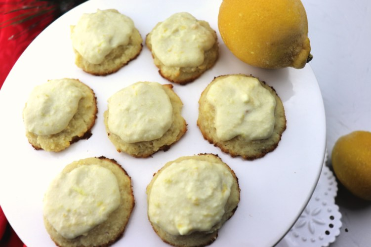 Low Carb Lemon Cookies are keto melt in your mouth delish. Gluten-free and sugar-free these citrus stars are sure to please the family or holiday guests. #ketodietrecipes #ketocookies