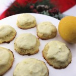 Low Carb Lemon Cookies, creamy mascarpone cheese goodness. #ketocookies #lowcarbcookies