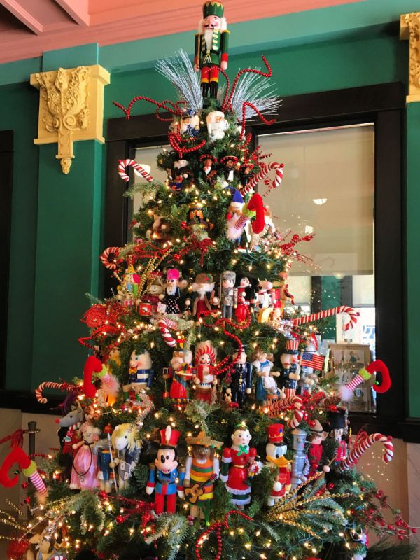 A Nutcracker Christmas tree