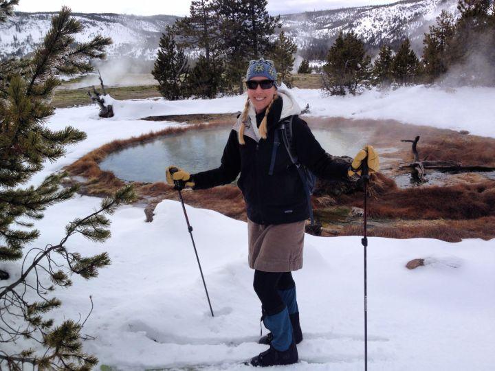 Yellowstone National Park, Wyoming #yellowstonetrips #yellowstoneinwinter