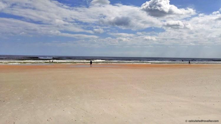 Anastasia State Park Beach, St. Augustine, Florida #exploreflorida #floridastateparks