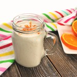 Orange creamsicle. Keto shakes are tasty meal replacements for easy on the go low carb meals. #ketobreakfast #ketorecipes