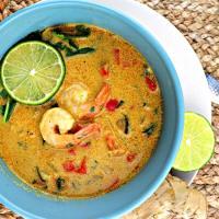 Low Carb Keto Thai Coconut Soup