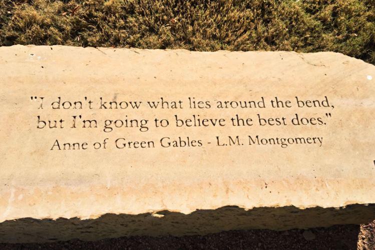 Anne of Green Gables quote, Storybook capital Abilene TX #calf #abilenetx