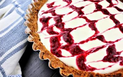 Almond Raspberry Keto Bakewell Tart