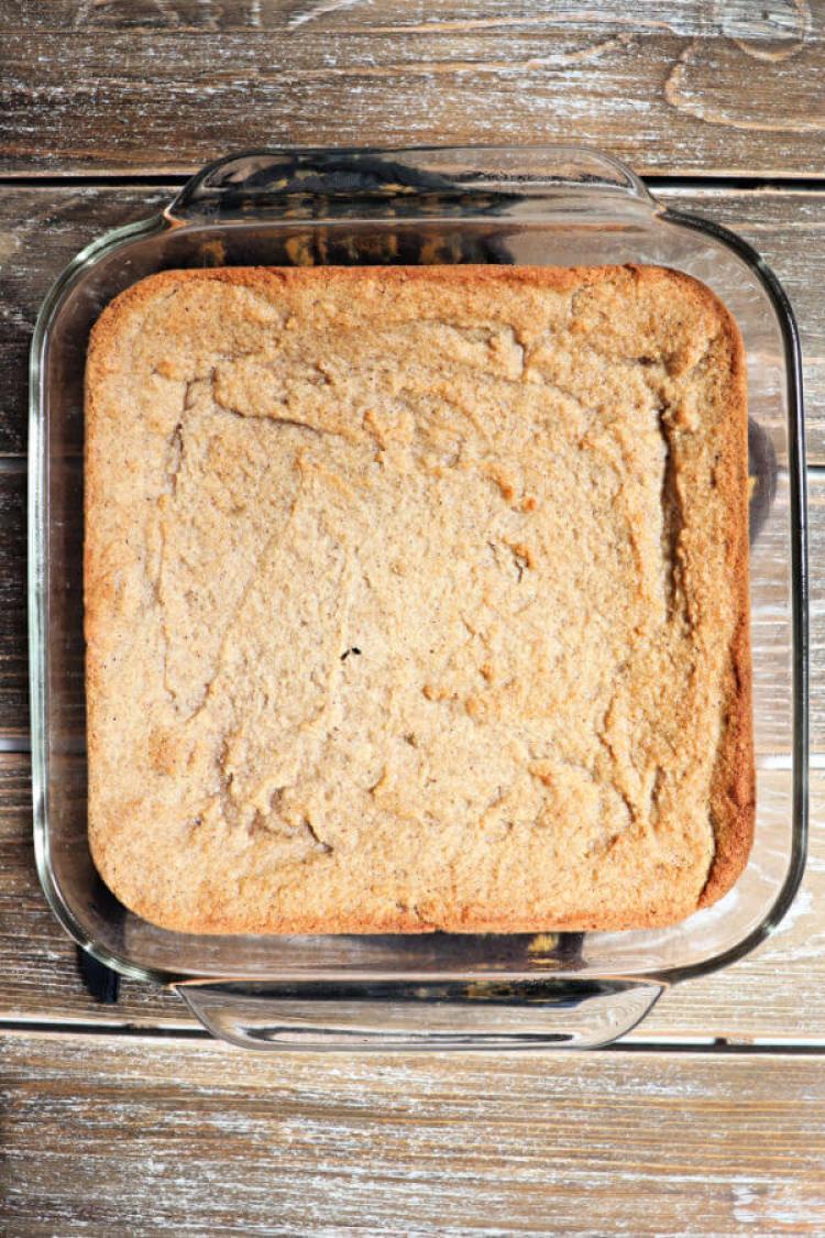 Unfrosted keto spice cake. #ketocake #lowcarbdessert #spicecake