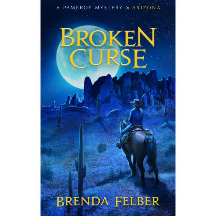 Middle grade book from the Pameroy Mystery Series, Broken Curse by Brenda Felber, Arizona