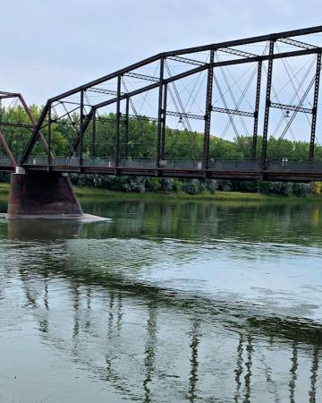 Fort Benton Bridge, Fort Benton Montana #montanatravel #visitmontana #central montana