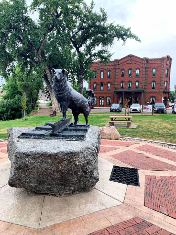 Shep the dog statue, things to do in Fort Benton, Montana