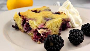 Low Carb Lemon Blueberry Cream Cake Explorer Momma