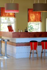 Kitchen and bar counter