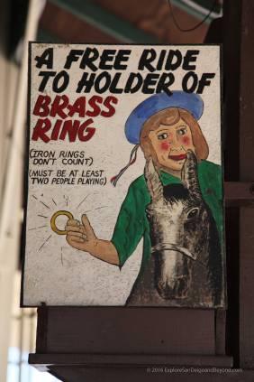 Brass ring grab