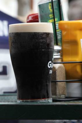 A glass of Guiness