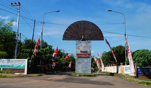 Pintu masuk Taman Margasatwa