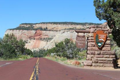 East Entrance - Zion National Park