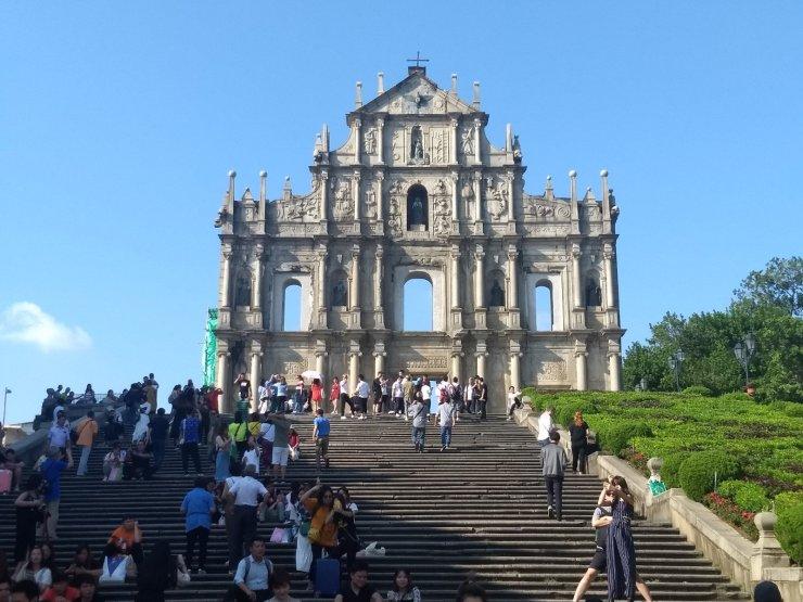 Steps to St. Paul's - Macau- 10-15-2019