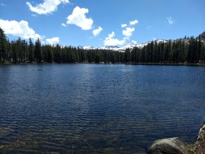 Lower Long Lake - Hoover Wilderness - 7-6-2019